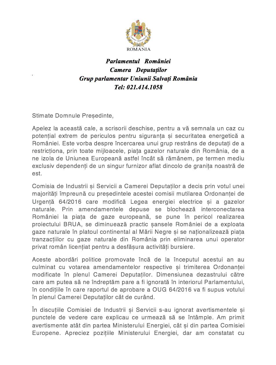 Scrisoare deschisă: PSD naționalizează piața de gaze naturale din România și împinge țara spre infringement