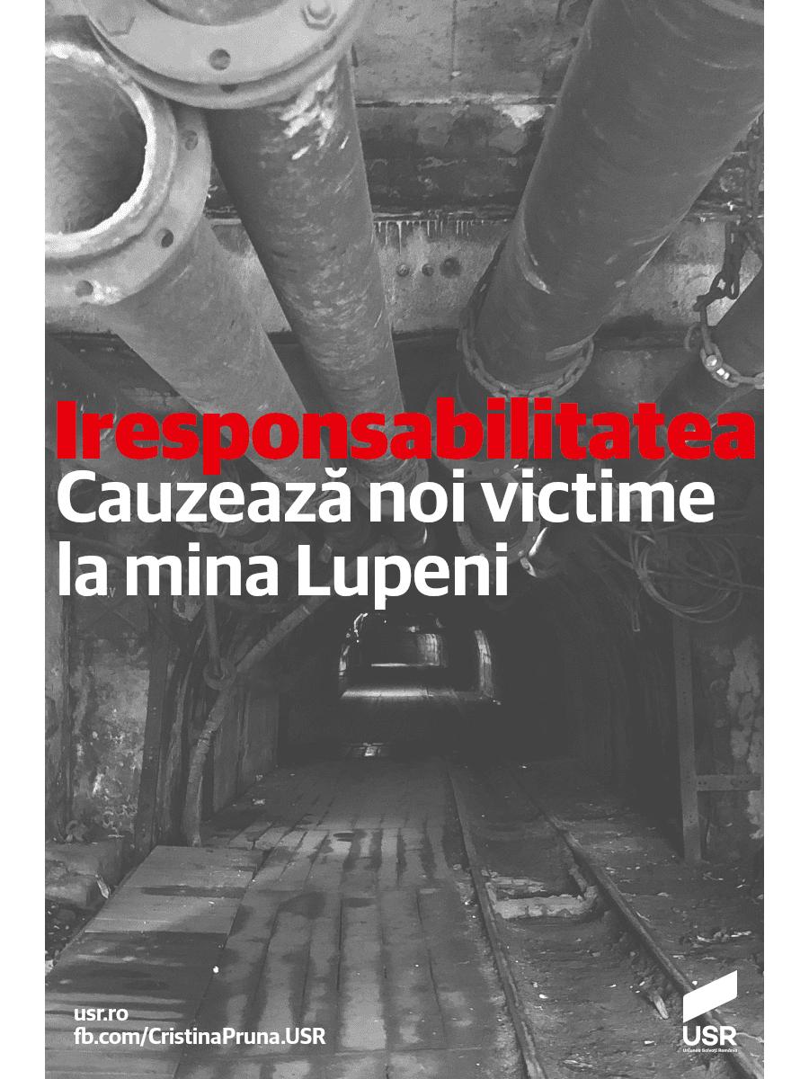 Accidentele se țin lanț la mina Lupeni