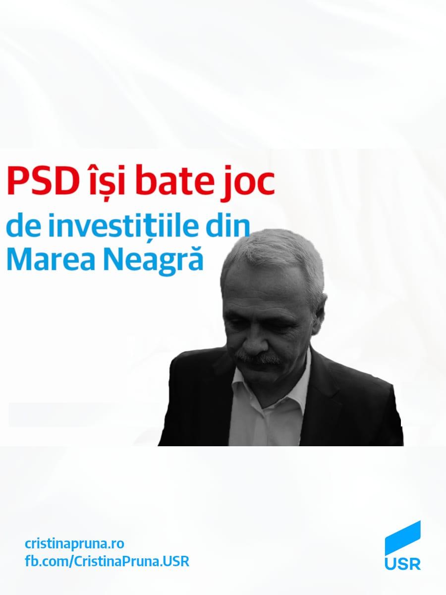 PSD își bate joc de investițiile din Marea Neagră