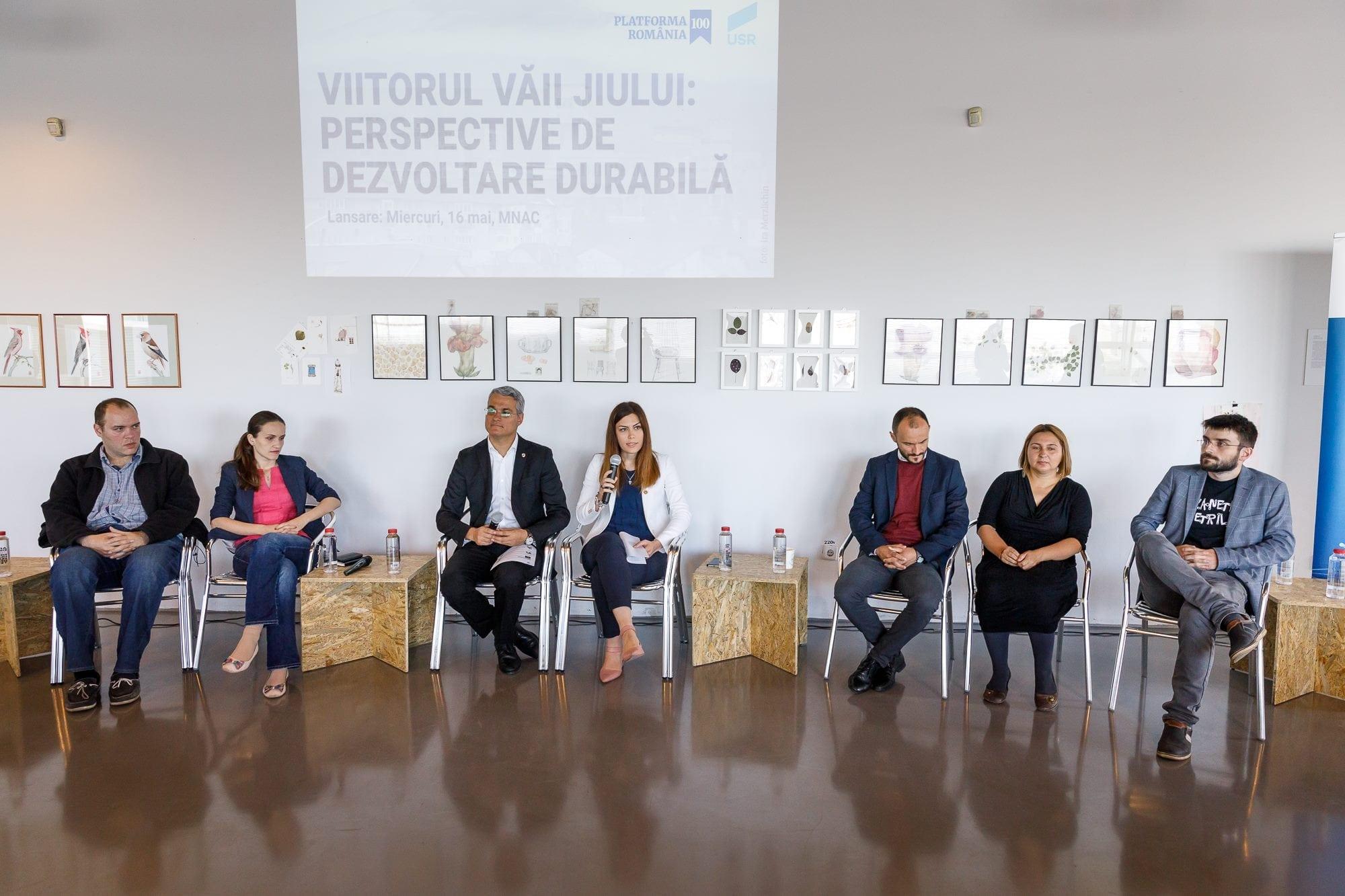 """Uniunea Salvaţi România şi Platforma România 100 au lansat programul """"Viitorul Văii Jiului: Perspective de dezvoltare durabilă"""""""