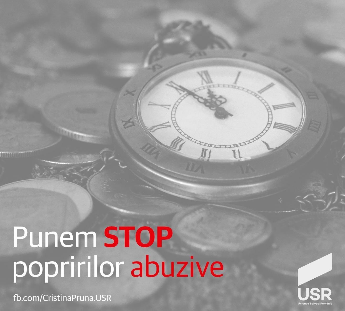 Punem STOP popririlor abuzive
