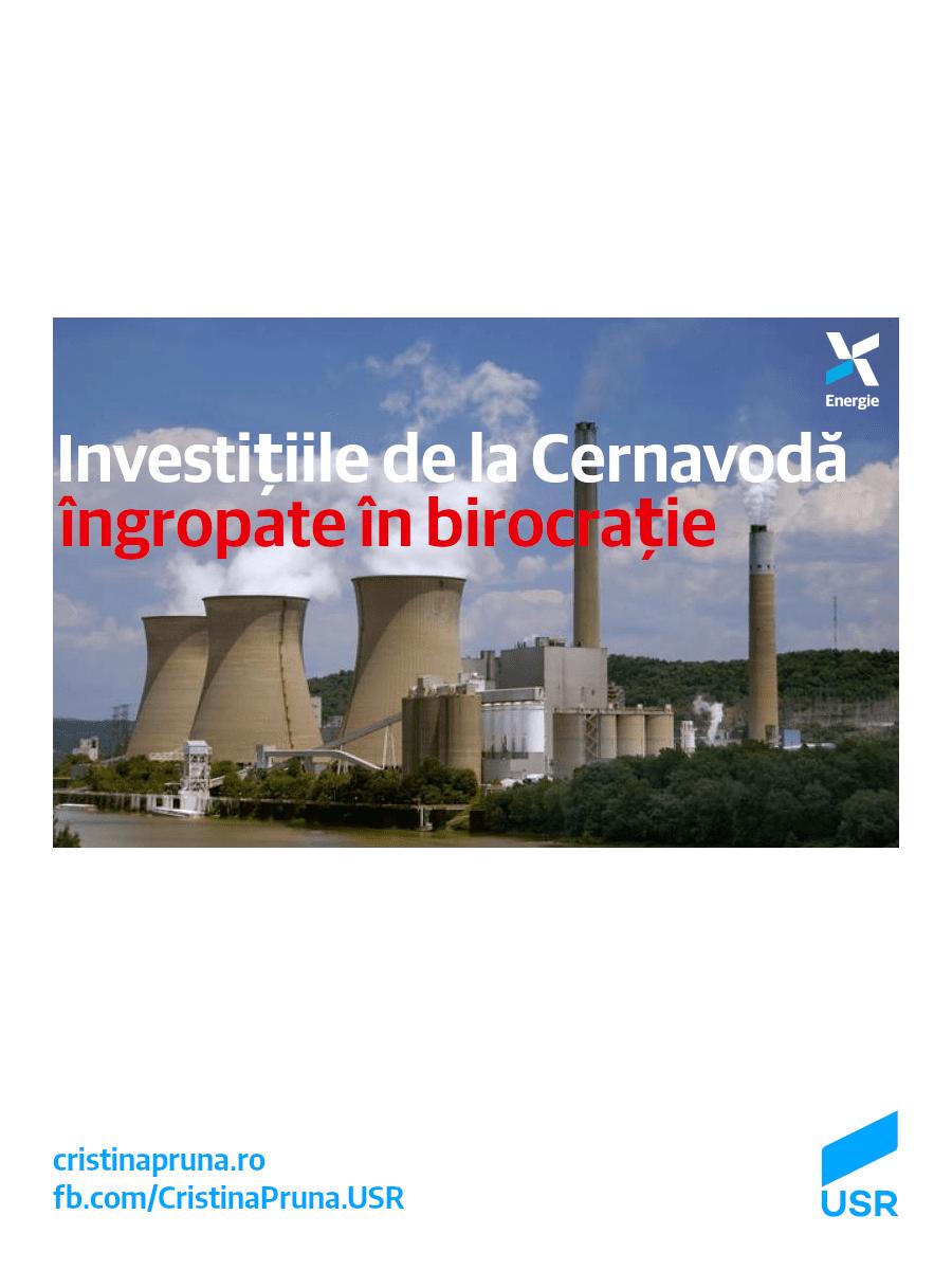 Investițiile de la Cernavodă îngropate în birocrație
