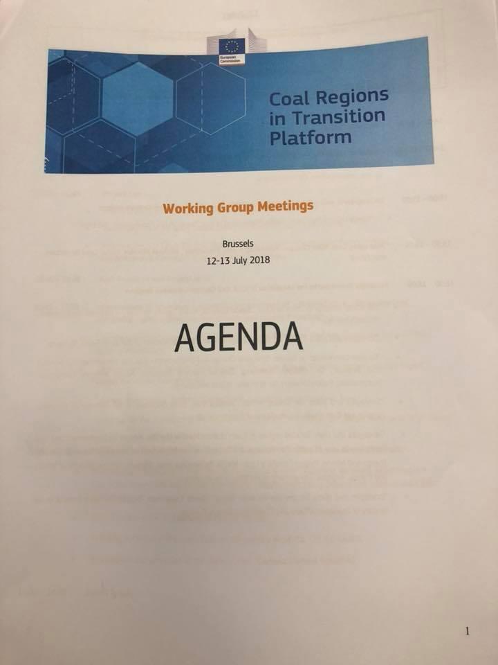 A doua întâlnire a Platformei regiunilor carbonifere în tranziție