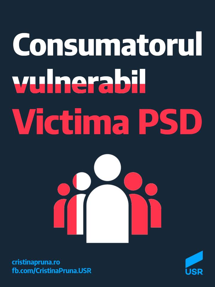 Consumatorul vulnerabil victima PSD