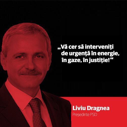 Liviu Dragnea cere să se intervină de urgență în energie, în gaze, în justiție