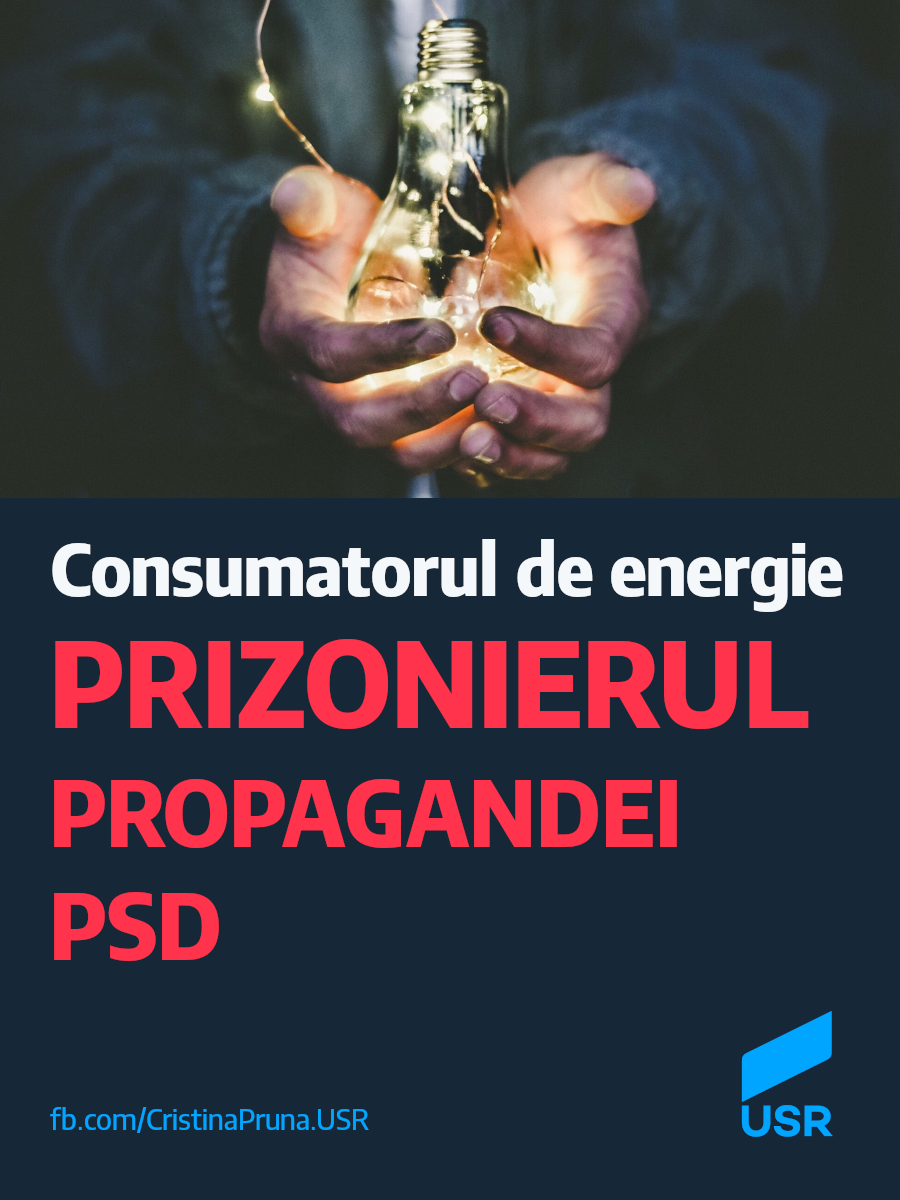 Consumatorul de energie, prizonierul propagandei PSD