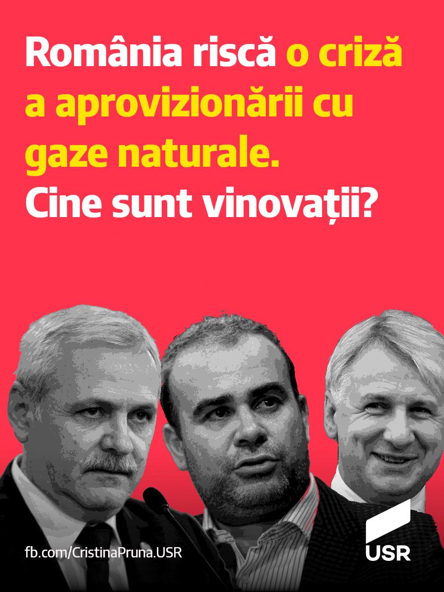 România riscă o criză a aprovizionării cu gaze naturale. Cine sunt vinovații?