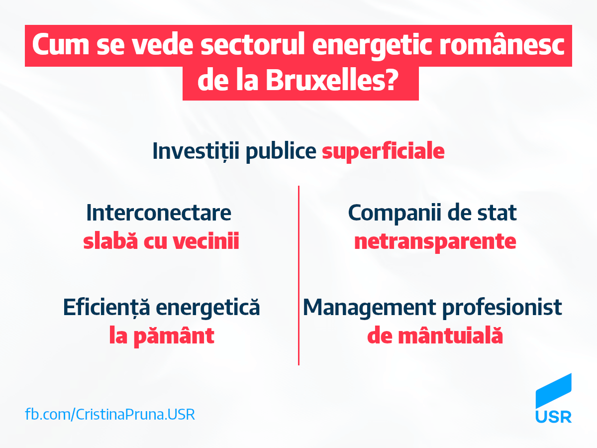 Cum se vede sectorul energetic românesc de la Bruxelles?