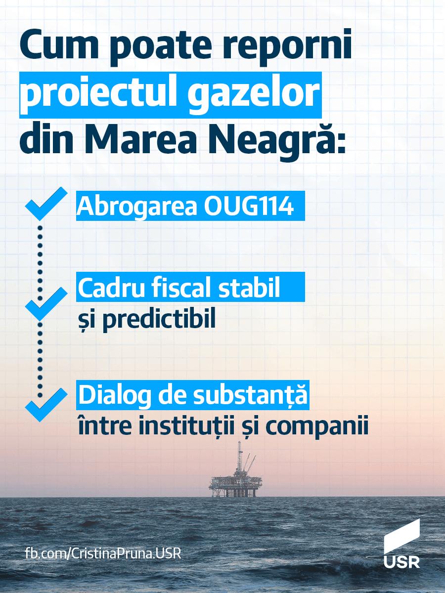 Cum poate reporni proiectul gazelor din Marea Neagră